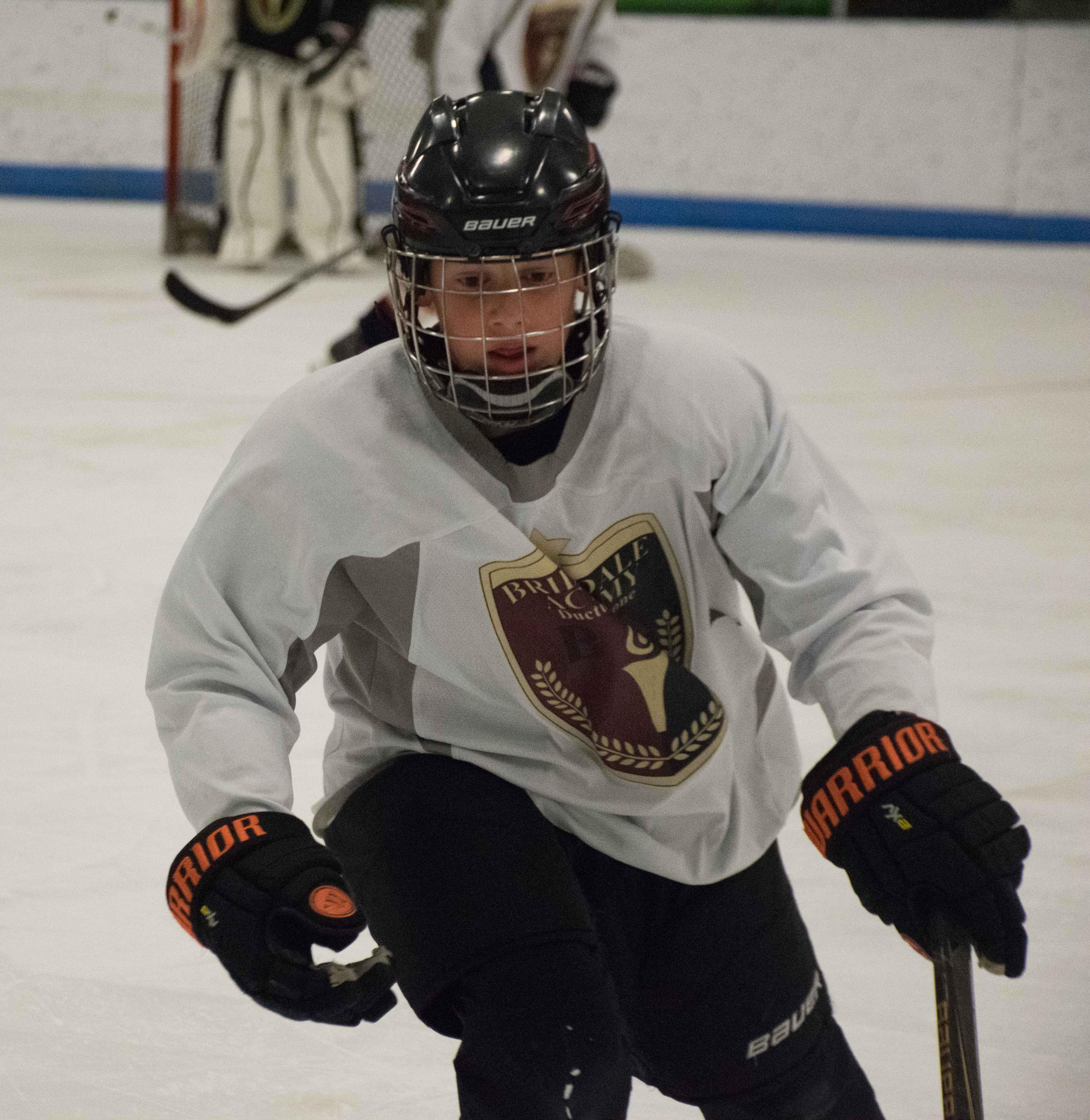 train for posture and agility when training youth hockey players