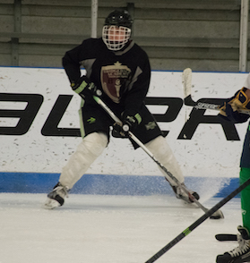 train the athlete when training youth hockey players